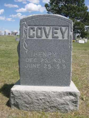 COVEY, HENRY - Sioux County, Nebraska   HENRY COVEY - Nebraska Gravestone Photos