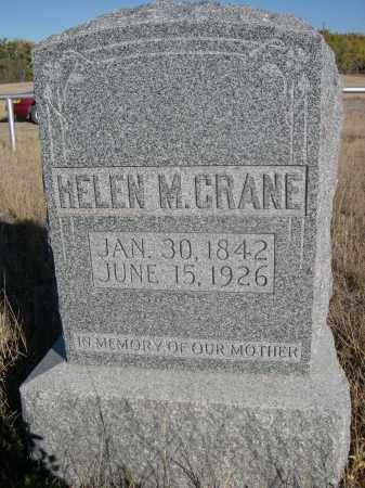 CRANE, HELEN M. - Sioux County, Nebraska | HELEN M. CRANE - Nebraska Gravestone Photos