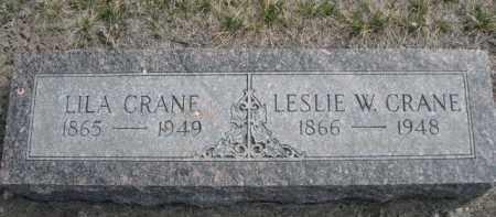 CRANE, LILA - Sioux County, Nebraska | LILA CRANE - Nebraska Gravestone Photos