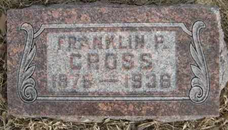 CROSS, FRANKLIN F. - Sioux County, Nebraska | FRANKLIN F. CROSS - Nebraska Gravestone Photos