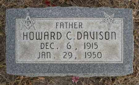 DAVISON, HOWARD C. - Sioux County, Nebraska | HOWARD C. DAVISON - Nebraska Gravestone Photos