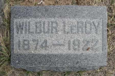 DE HAVEN, WILBUR LEROY - Sioux County, Nebraska | WILBUR LEROY DE HAVEN - Nebraska Gravestone Photos