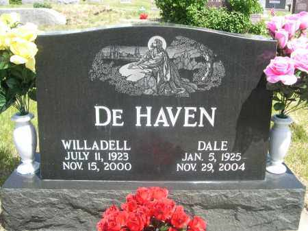 DE HAVEN, DALE - Sioux County, Nebraska | DALE DE HAVEN - Nebraska Gravestone Photos