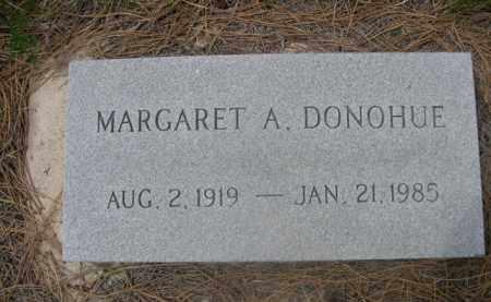 DONOHUE, MARGARET A. - Sioux County, Nebraska   MARGARET A. DONOHUE - Nebraska Gravestone Photos