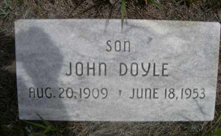 DOYLE, JOHN - Sioux County, Nebraska | JOHN DOYLE - Nebraska Gravestone Photos