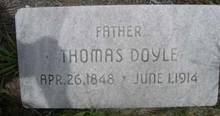 DOYLE, THOMAS - Sioux County, Nebraska | THOMAS DOYLE - Nebraska Gravestone Photos