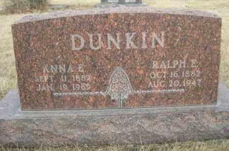 DUNKIN, ANNA E. - Sioux County, Nebraska   ANNA E. DUNKIN - Nebraska Gravestone Photos