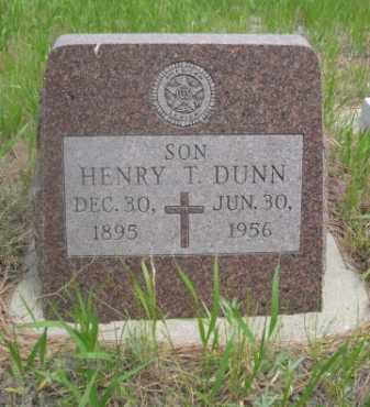 DUNN, HENRY T. - Sioux County, Nebraska | HENRY T. DUNN - Nebraska Gravestone Photos