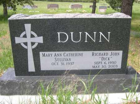 SULLIVAN DUNN, MARY ANN CATHERINE - Sioux County, Nebraska | MARY ANN CATHERINE SULLIVAN DUNN - Nebraska Gravestone Photos