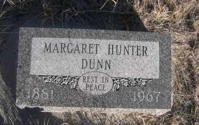 DUNN, MARGARET - Sioux County, Nebraska | MARGARET DUNN - Nebraska Gravestone Photos