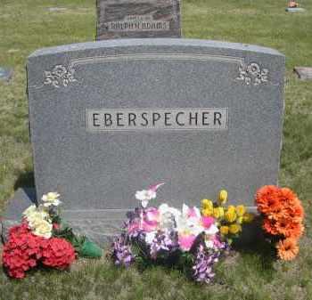 EBERSPECHER, FAMILY - Sioux County, Nebraska   FAMILY EBERSPECHER - Nebraska Gravestone Photos