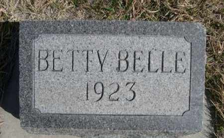 ELLICOTT, BETTY BELLE - Sioux County, Nebraska   BETTY BELLE ELLICOTT - Nebraska Gravestone Photos