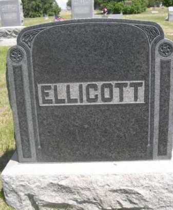 ELLICOTT, FAMILY - Sioux County, Nebraska | FAMILY ELLICOTT - Nebraska Gravestone Photos