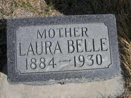 ELLICOTT, LAURA BELLE - Sioux County, Nebraska | LAURA BELLE ELLICOTT - Nebraska Gravestone Photos