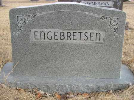 ENGEBRETSEN, FAMILY - Sioux County, Nebraska | FAMILY ENGEBRETSEN - Nebraska Gravestone Photos