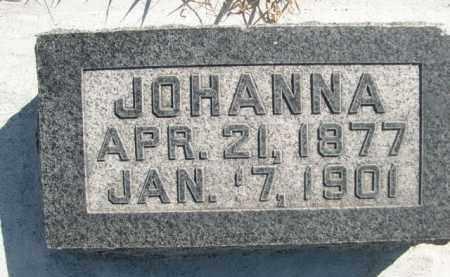 ENGEBRETSEN, JOHANNA - Sioux County, Nebraska | JOHANNA ENGEBRETSEN - Nebraska Gravestone Photos
