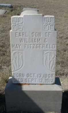 FITZGERALD, EARL - Sioux County, Nebraska | EARL FITZGERALD - Nebraska Gravestone Photos