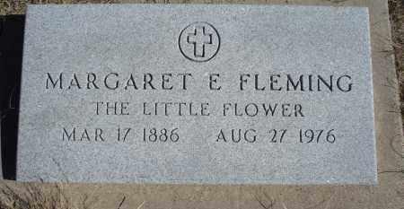 FLEMING, MARGARET E. - Sioux County, Nebraska | MARGARET E. FLEMING - Nebraska Gravestone Photos