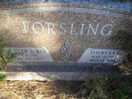 FORSLING, THERESA L. - Sioux County, Nebraska | THERESA L. FORSLING - Nebraska Gravestone Photos
