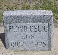 FOX, FLOYD CECIL - Sioux County, Nebraska | FLOYD CECIL FOX - Nebraska Gravestone Photos