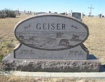 "GEISER, WILMA E. ""WILLIE"" - Sioux County, Nebraska | WILMA E. ""WILLIE"" GEISER - Nebraska Gravestone Photos"