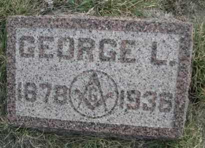 GERLACH, GEORGE L. - Sioux County, Nebraska   GEORGE L. GERLACH - Nebraska Gravestone Photos