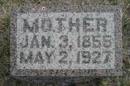 GERLACH, MOTHER - Sioux County, Nebraska | MOTHER GERLACH - Nebraska Gravestone Photos