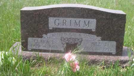GRIMM, CLARA E. - Sioux County, Nebraska   CLARA E. GRIMM - Nebraska Gravestone Photos