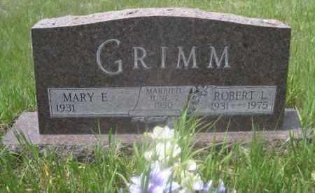 GRIMM, ROBERT L. - Sioux County, Nebraska | ROBERT L. GRIMM - Nebraska Gravestone Photos