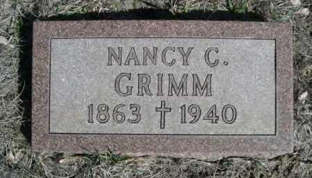 GRIMM, NANCY C. - Sioux County, Nebraska | NANCY C. GRIMM - Nebraska Gravestone Photos
