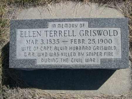 GRISWOLD, ELLEN - Sioux County, Nebraska | ELLEN GRISWOLD - Nebraska Gravestone Photos