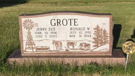 GROTE, RONALD W. - Sioux County, Nebraska   RONALD W. GROTE - Nebraska Gravestone Photos