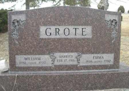 GROTE, EMMA - Sioux County, Nebraska | EMMA GROTE - Nebraska Gravestone Photos