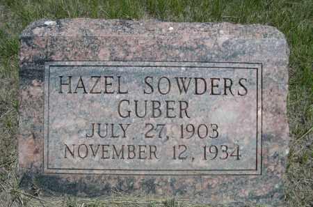 SOWDERS GUBER, HAZEL - Sioux County, Nebraska | HAZEL SOWDERS GUBER - Nebraska Gravestone Photos