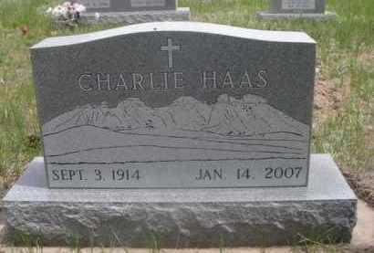 HAAS, CHARLIE - Sioux County, Nebraska   CHARLIE HAAS - Nebraska Gravestone Photos
