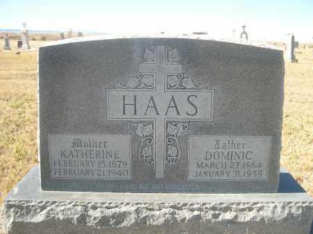HAAS, DOMINIC - Sioux County, Nebraska | DOMINIC HAAS - Nebraska Gravestone Photos