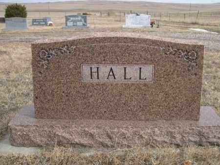 HALL, FAMILY - Sioux County, Nebraska | FAMILY HALL - Nebraska Gravestone Photos