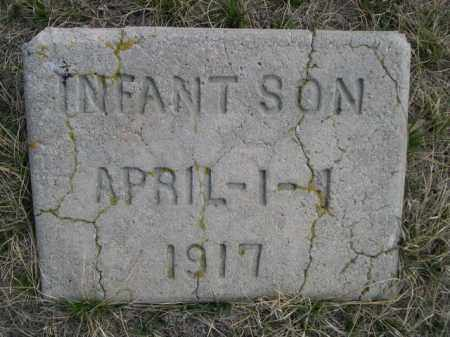 HALL, INFANT SON - Sioux County, Nebraska | INFANT SON HALL - Nebraska Gravestone Photos