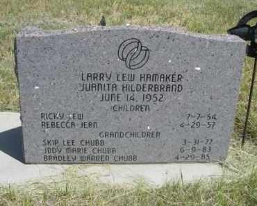 HAMAKER, LARRY LEW - Sioux County, Nebraska   LARRY LEW HAMAKER - Nebraska Gravestone Photos