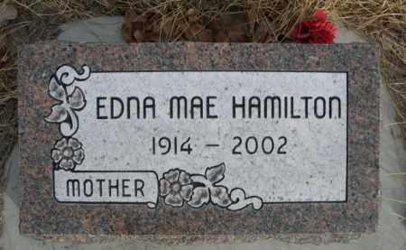 HAMILTON, EDNA MAE - Sioux County, Nebraska | EDNA MAE HAMILTON - Nebraska Gravestone Photos