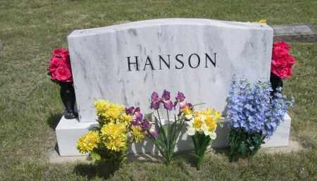 HANSON, FAMILY - Sioux County, Nebraska | FAMILY HANSON - Nebraska Gravestone Photos