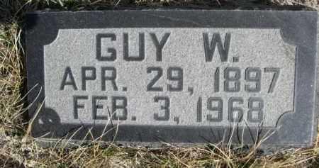 HANSON, GUY W. - Sioux County, Nebraska | GUY W. HANSON - Nebraska Gravestone Photos