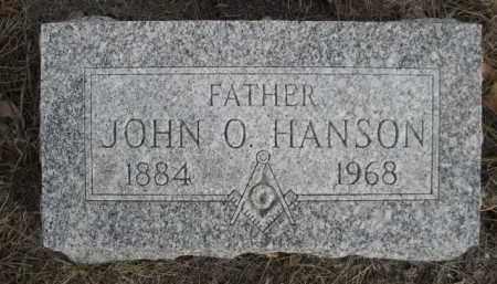 HANSON, JOHN O. - Sioux County, Nebraska | JOHN O. HANSON - Nebraska Gravestone Photos