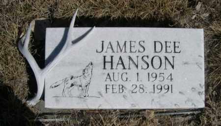 HANSON, JAMES DEE - Sioux County, Nebraska   JAMES DEE HANSON - Nebraska Gravestone Photos