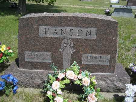 HANSON, VERNON L. - Sioux County, Nebraska | VERNON L. HANSON - Nebraska Gravestone Photos