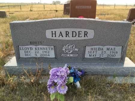 HARDER, HILDA MAE - Sioux County, Nebraska | HILDA MAE HARDER - Nebraska Gravestone Photos
