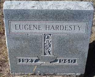 HARDESTY, EUGENE - Sioux County, Nebraska   EUGENE HARDESTY - Nebraska Gravestone Photos