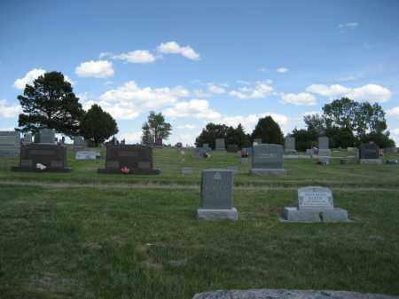 *HARRISON CITY CEMETERY, VIEW OF - Sioux County, Nebraska | VIEW OF *HARRISON CITY CEMETERY - Nebraska Gravestone Photos