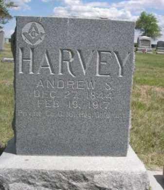 HARVEY, ANDREW S. - Sioux County, Nebraska | ANDREW S. HARVEY - Nebraska Gravestone Photos