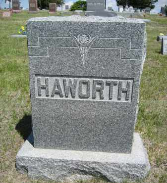 HAWORTH, FAMILY - Sioux County, Nebraska   FAMILY HAWORTH - Nebraska Gravestone Photos